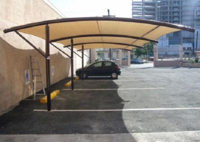Estructura para toldos de lona materiales de for Estructuras para toldos